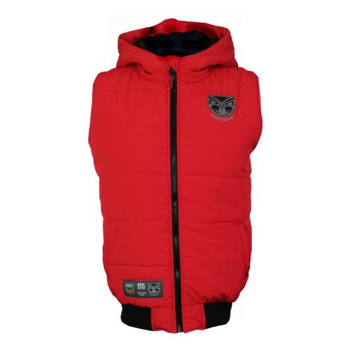 2019 Warriors NRL Poison Puffer Vest