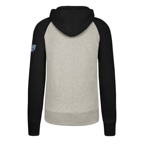 Warriors 47 Brand Headline Raglan Hoodie - Mens