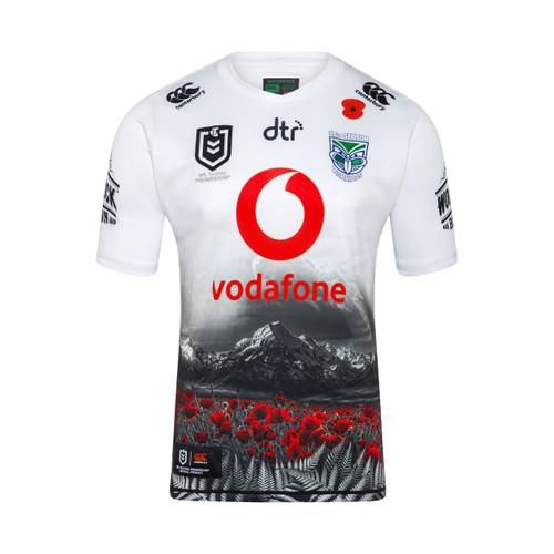 2019 Vodafone Warriors CCC Anzac Jersey - Adults