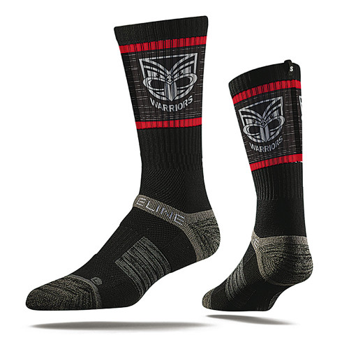 Warriors Strideline Premium Crew Socks