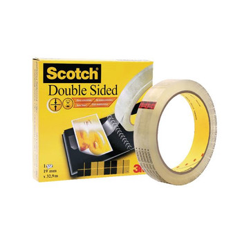 Scotch Double Sided Tape 19 mm x 33 m 6651933