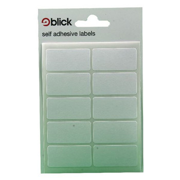 Blick White 19x38mm Labels (Pack de 1400) RS003151