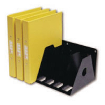 Rotadex Black 7 Section A4 Ring Binder Unidad de archivado A4R / 7