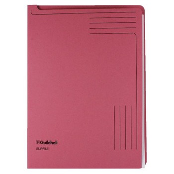 Guildhall Slipfile Pink 4604Z
