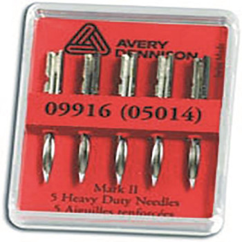 Avery Tagging Gun Needles Heavy Duty (paquete de 5) 5014