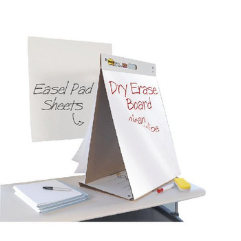 3M Post-it Table Top Easel Pad / Dry Erase Board 563-D3
