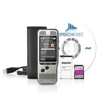 Grabadora de voz Philips Silver Digital Pocket Memo 6000 DPM6000