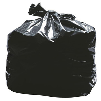 2Work Black Light Duty Refuse Sacks (Paquete de 200) KF73375