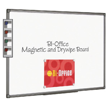 Bi-Office Magnético Whiteboard 900x600mm Aluminio acabado MB0706186