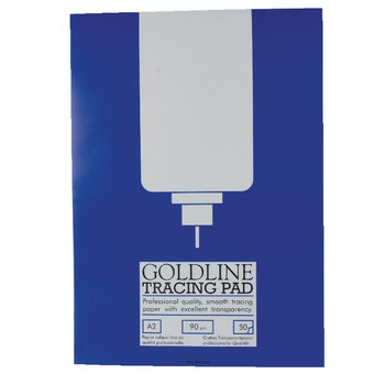 Goldline A2 Professional Tracing Pad 90gsm 50 hojas GPT1A2