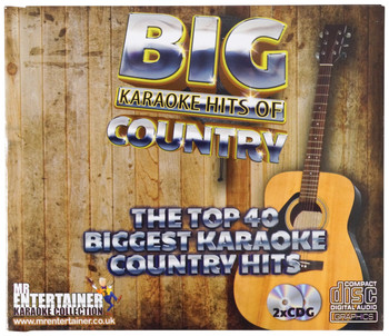 Mr Entertainer Karaoke CDG - Country Hits [KAR132]