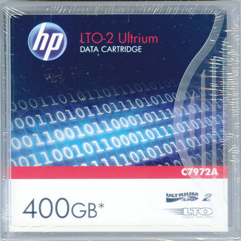 HP Ultrium LTO-2 400GB Data Cart C7972A