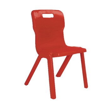 FF Titan Red 1 Piece 260mm Chairs Pk30