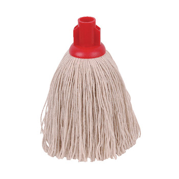 2Work 12oz Twine Rough Mop Red PK10