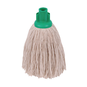 2Work 12oz Twine Rough Mop Green PK10