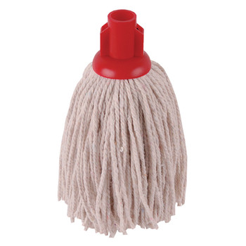 2Work 12oz PY Smooth Mop Red PK10