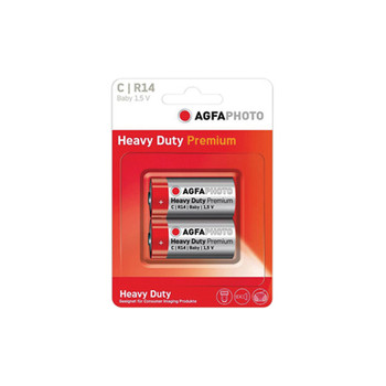 AGFA PHOTO C Zinc Chloride Battery. Paquete de 2. AGFA PHOTO AG003