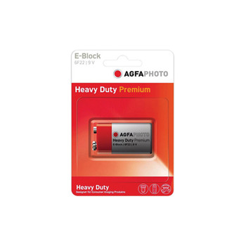 AGFA PHOTO E-Block 9V Zinc Chloride Battery Altai AG005