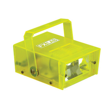 Soundlab Yellow 14 W Plastic Mini estroboscópico Soundlab G011DY