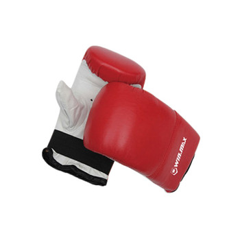 6-8 oz guantes de boxeo junior (negro)