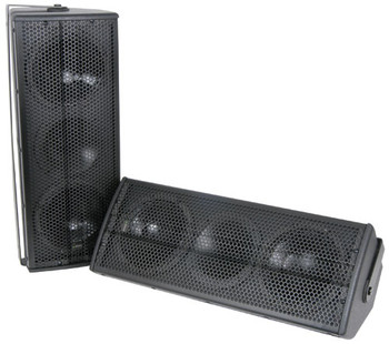 "Altavoces CX-1608 2 x 6.5 ""160W par - negro (170.356UK)"