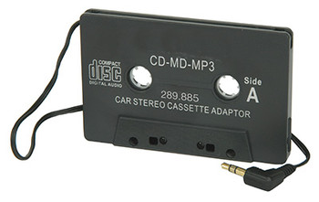 Adaptador de CD para radio / casete de automóvil estándar (289.885 UK)