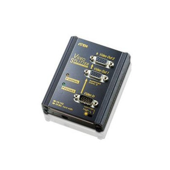 ATEN 2 Port Video Splitter 250MHZ [VS102-AT-E]