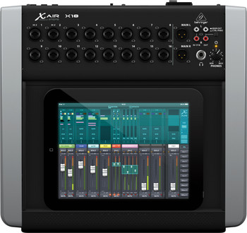 Behringer X AIR X18 Mezclador digital de 12 buses para tabletas iPad / Android