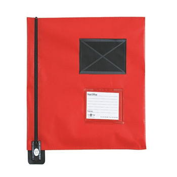 GoSecure Flat Mail Pouch Rojo 286x336mm FP7R