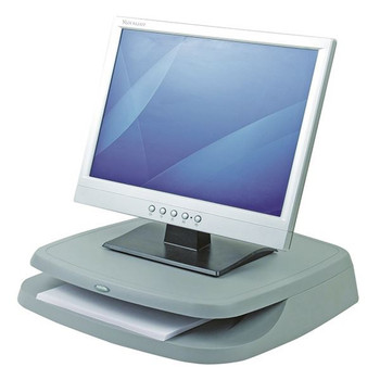 Fellowes Basics Monitor Riser Graphite 91456