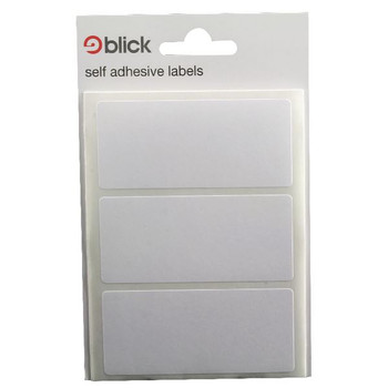 Blick White Label Bag 34x75mm (paquete de 420) RS003755