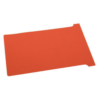 Nobo T-Card Size 2 Red (Paquete de 100) 32938906