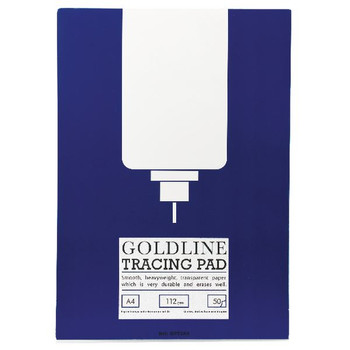 Goldline A4 Heavyweight Tracing Pad 112gsm 50 hojas GPT3A4