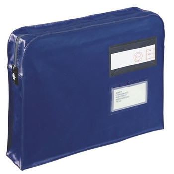 GoSecure Gusset Mailing Pouch 457x330x76mm Azul VFT3