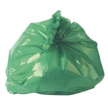 2Work Refuse Sack 100g Green (paquete de 200) CS002