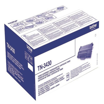 Brother Black Standard yield Toner TN3430 Página rendimiento 3000