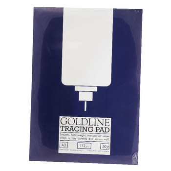 Goldline A3 Heavyweight Tracing Pad 112gsm 50 hojas GPT3A3