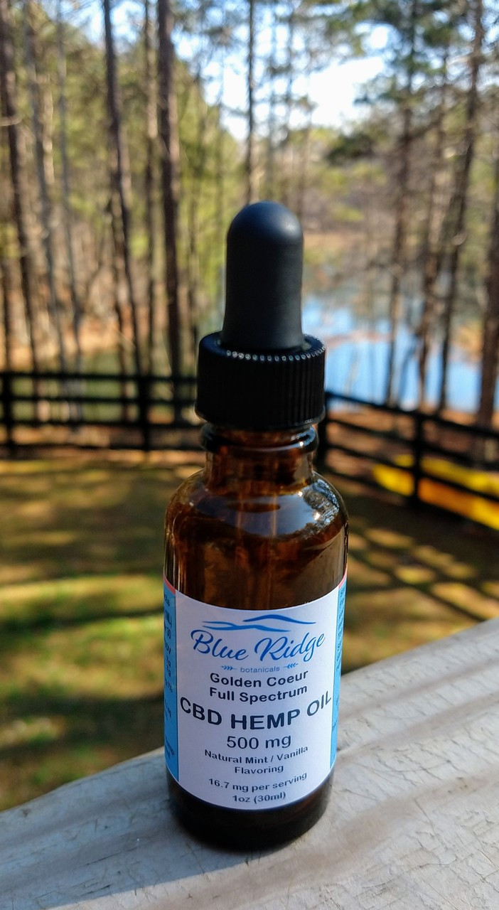 CBD Hemp Oil - 500 mg (16.7mg/serv)