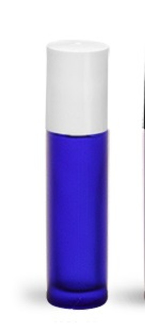 Blue glass roll on 10ml