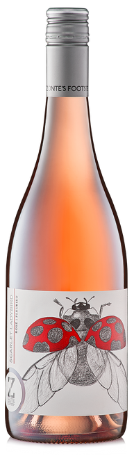 Zonte's Footstep Scarlet Ladybird Rosé always comes up smelling of rose petals with lovely delicate ladylike edges. strawberries & cream, fresh berry fruit this wine is a real lady killer.