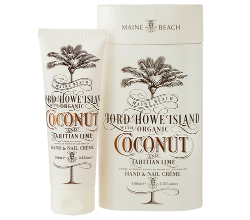 Coconut and Tahitian Lime Hand and Nail Creme