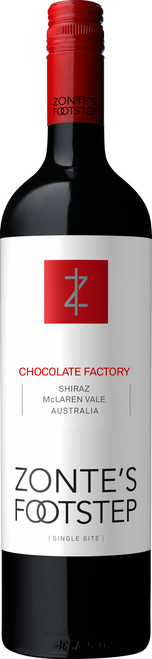 Chocolate Factory McLaren Vale Shiraz 2017 Traditional Label