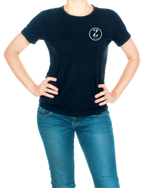 Zonte's Footstep Logo Scoopneck T-Shirt - Women's