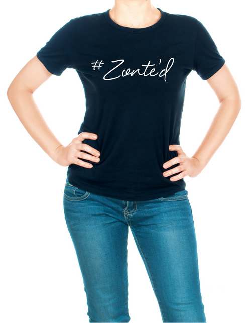 Zonte's Footstep #Zonte'd Scoopneck Shirt - Women's