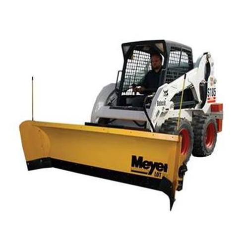 "Meyer Skid Steer Plow Blade Lot Pro Poly 8' 5"""