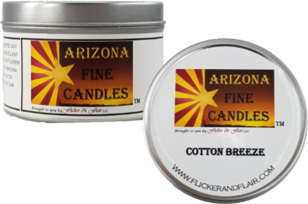 AZ Fine Candles 175g Tin