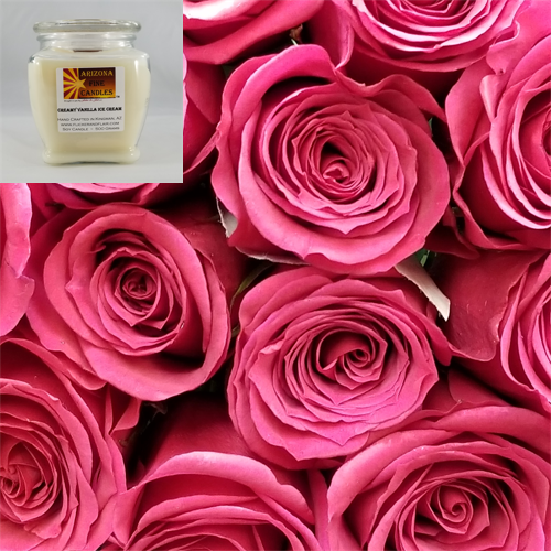 Roseate 500g Soy Footed Jar Candle