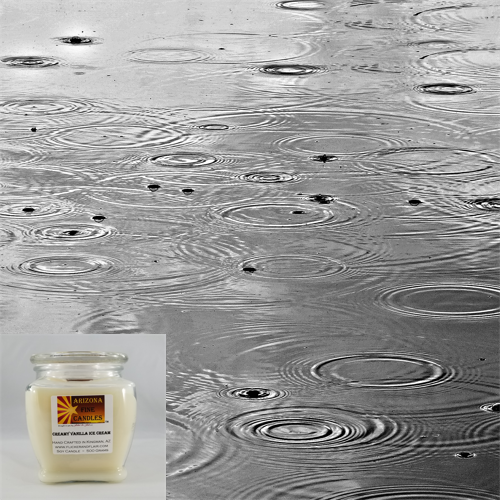 Rainy Day 500g Soy Footed Jar Candle