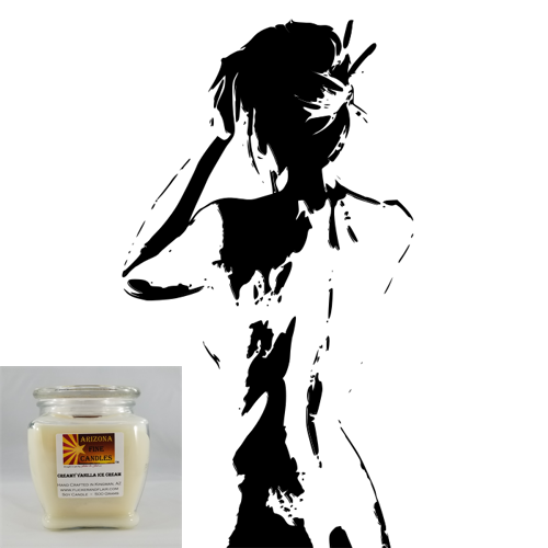 Nude 500g Soy Footed Jar Candle