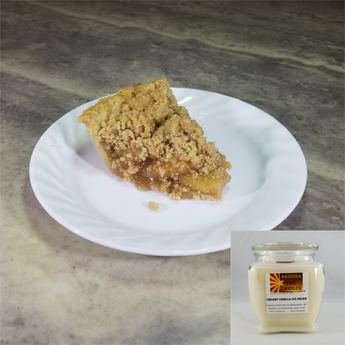 Dutch Apple Pie 500g Soy Footed Jar Candle